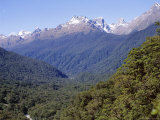 Routeburn Track, Hollyford Valley, Pops View Towards Humbolt Mountains, Fiordland National Park Photographic Print by Jeremy Bright