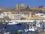 Port and Alcazaba, Almeria, Andalucia, Spain Photographic Print by Charles Bowman