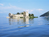 Old Prison Island of Grmozur, Lake Skadar, Montenegro Photographic Print by Richard Ashworth