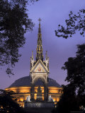 Albert Memorial and the Royal Albert Hall, London, England, United Kingdom Photographic Print by Charles Bowman