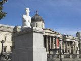 Statue of Alison Lapper, Trafalgar Square, London, England, United Kingdom Photographic Print by Charles Bowman