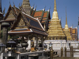 Grand Palace, Bangkok, Thailand, Southeast Asia Photographic Print by Charcrit Boonsom