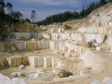 Marble Quarry, Greece Photographic Print by Charles Bowman