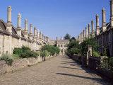 Vicar's Close, Wells, Somerset, England, United Kingdom Photographic Print by Julia Bayne