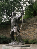 Statue of Robin Hood, Nottingham, Nottinghamshire, England, United Kingdom Photographic Print by Charles Bowman