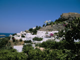 Lindos, Rhodes, Greek Islands, Greece Photographic Print by Nelly Boyd