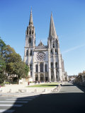 West Front, Notre Dame Cathedral, Chartres, Val De Loire, Centre, France Photographic Print by Richard Ashworth