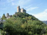 Castle of Najac in the Valley of the River Aveyron, Najac, Midi-Pyrenees, France Photographic Print by Richard Ashworth
