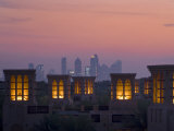 Al Qasr Hotel at Dusk, Dubai, United Arab Emirates, Middle East Photographic Print by Charles Bowman
