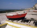 Yport, Seine-Mme, Basse Normandie (Normandy), France Photographic Print by Charles Bowman