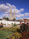 Chartres and Cathedral, Eure-Et-Loir, Centre, France Photographic Print by Charles Bowman