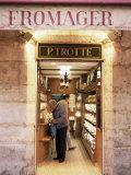 Cheese Shop, Paris, France Photographic Print by Charles Bowman