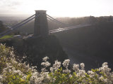 Clifton Suspension Bridge, Bristol, England, United Kingdom Photographic Print by Charles Bowman