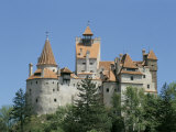 Bran Castle (Dracula's Castle), Transylvania, Romania Photographic Print by Charles Bowman