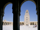 The Grand Mosque, Kairouan, Unesco World Heritage Site, Tunisia, North Africa, Africa Photographic Print by Charles Bowman