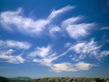 Cirrus Clouds, Tien Shan Mountains, Kazakhstan, Central Asia Photographic Print by N A Callow