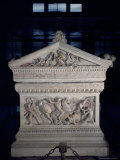 Sarcophagus of Alexander the Great, Istanbul, Turkey Photographic Print by Richard Ashworth