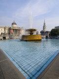Trafalgar Square, London, England, United Kingdom Photographic Print by Charles Bowman