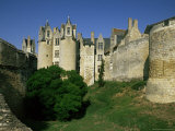 Chateau Montreuil Bellay, Near Saumur, Western Loire, Loire Valley, France Photographic Print by Michael Busselle