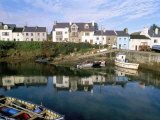 Fishing Port, Roundstone Village, Connemara, County Galway, Connacht, Eire (Ireland) Photographic Print by Bruno Barbier