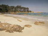 Beach Near Propriano, Corsica, France, Mediterranean Photographic Print by Michael Busselle