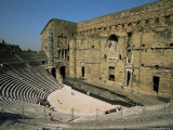 Roman Theatre (Theatre Antique), Orange, Unesco World Heritage Site, Vaucluse, Provence, France Photographic Print by Jean Brooks