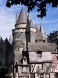 Vitre, Ille-Et-Vilaine, Brittany, France Photographic Print by Michael Busselle