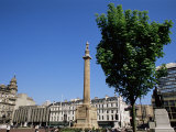 Sir Walter Scott Column, George Square, Glasgow, Scotland, United Kingdom Photographic Print by Jean Brooks