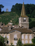 Village of Pernand Vergelesses, Burgundy, France Photographic Print by Michael Busselle