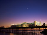 Brighton Pier at Twilight, Brighton, Sussex, England, United Kingdom Photographic Print by Jean Brooks