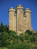 Chateau of Tournemire, Cantal, Auvergne, France Photographic Print by Michael Busselle