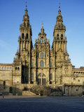 The Cathedral, Santiago De Compostela, Unesco World Heritage Site, Galicia, Spain Photographic Print by Michael Busselle