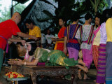 Traditional Thai Marriage, Bangkok Area, Thailand, Southeast Asia Photographic Print by Bruno Barbier