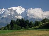 Mont Blanc, Haute Savoie, Rhone Alpes, French Alps, France Photographic Print by Michael Busselle