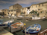 The Harbour, Centauri Port, Corsica, France Photographic Print by Michael Busselle