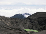 Third Crater from the Summit of Irazu, Highest in Costa Rica at 3432M, Last Erupted 1994, Cartago Photographic Print by Pearl Bucknall
