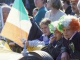 St. Patrick's Parade, Patrick Street, Dublin, County Dublin, Eire (Ireland) Reprodukcja zdjęcia autor Bruno Barbier