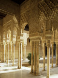 Court of the Lions, Alhambra, Unesco World Heritage Site, Granada, Andalucia, Spain Photographic Print by Michael Busselle