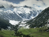 Val d'Aran in the Pyrenees Near Viella, Catalonia, Spain Photographic Print by Michael Busselle