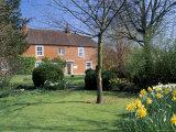 Jane Austen's House, Chawton, Hampshire, England, United Kingdom Fotoprint van Jean Brooks