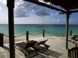 Blue Water Beach Hotel, Boon Point, Antigua, Leeward Islands Photographic Print by Bruno Barbier