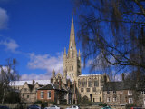 Norwich Cathedral from the Close, Norwich, Norfolk, England, United Kingdom Photographic Print by Jean Brooks