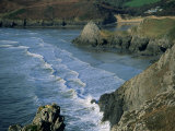 Three Cliffs Bay, Gower Peninsula, Glamorgan, Wales, United Kingdom Photographic Print by Jean Brooks