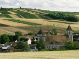 Village of Chitry, Burgundy, France Photographic Print by Michael Busselle