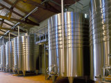 Wine Fermentation Tanks, Chateau Comtesse De Lalande, Pauillac, Gironde, France Photographic Print by Michael Busselle