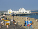 Pier and Promenade, Southsea, Hampshire, England, United Kingdom Photographic Print by Jean Brooks