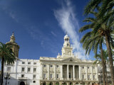 The Town Hall, Cadiz, Andalucia, Spain Photographic Print by Michael Busselle