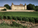 Chateau De Rully, Near Chalon Sur Soane, Bourgogne (Burgundy), France Photographic Print by Michael Busselle