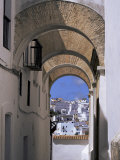 Arch of the Monjas, Vejer De La Frontera, Andalucia, Spain Photographic Print by Jean Brooks