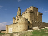 View of Castle, Turegano, Segovia Province, Castile Leon, Spain Photographic Print by Michael Busselle